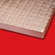 Foil backed foam insulation